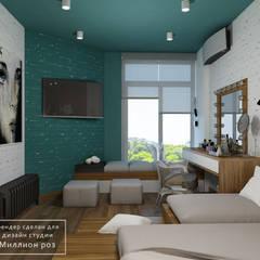 DM Comfort Town: styl , w kategorii Pokój multimedialny zaprojektowany przez Design studio TZinterior group