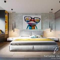 DM Central Park: styl , w kategorii Sypialnia zaprojektowany przez Design studio TZinterior group