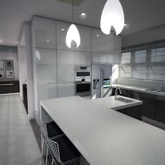 Built-in kitchens by Kori Interiors