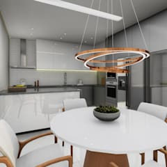 Kitchen units by Jaíne Girardi Arquitetura