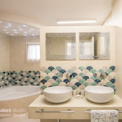 Bathroom by Rachele Biancalani Studio