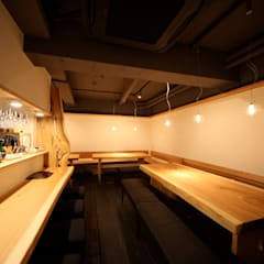 客席: 株式会社高野設計工房が手掛けた商業空間です。