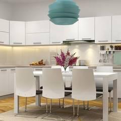 : mediterrane Küche von Công ty thiết kế xây dựng Song Phát