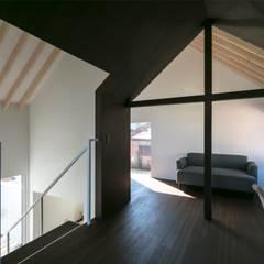 2階広間。: 星設計室が手掛けたリビングです。