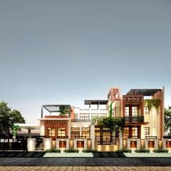 Front Elevation:  Villas by Chaukor Studio