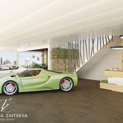 Wystrój wnętrza Motor show w ekologicznym stylu: styl , w kategorii Salon zaprojektowany przez Design studio TZinterior group