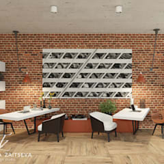 Wystrój wnętrz Pokazy motoryzacyjne w stylu loftu: styl , w kategorii Salon zaprojektowany przez Design studio TZinterior group