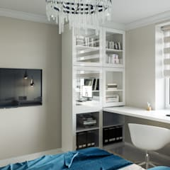 Boys Bedroom by IL design, Mediterranean