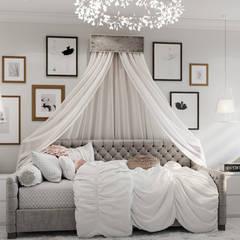 Phòng ngủ bé gái by IL design