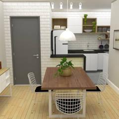 Sala de jantar: Salas de jantar  por Cara Nova Arquitetura