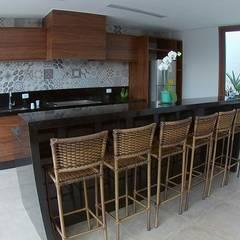 مطبخ تنفيذ IMAGINARTE -  Arquitetura & Construção