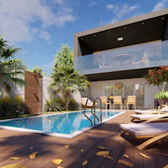 Houses by ELLEVVE Arquitetura e Design