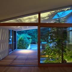 ta house オリジナルデザインの テラス の Takeru Shoji Architects.Co.,Ltd オリジナル