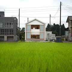 Eclectic style houses by Takeru Shoji Architects.Co.,Ltd Eclectic