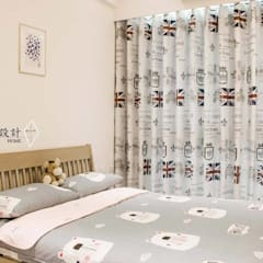 Quartos de bebê  por 沙瑪室內裝修有限公司