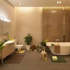 Baños de estilo  por Công ty Thiết Kế Xây Dựng Song Phát