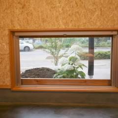 Projekty,  Okna drewniane zaprojektowane przez 株式会社高野設計工房