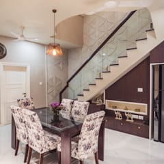 """""""House of Festivities"""":  Dining room by Skywalk Designs"""