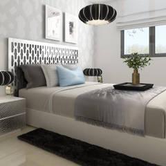 Diseño y decoración de Dormidorios: Dormitorios de estilo moderno de Taller de Interiores Mediterraneos