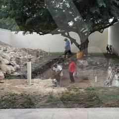 Projekty,  Basen do ogrodu zaprojektowane przez Heftye Arquitectura
