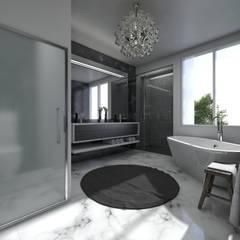 Baño: Baños de estilo  por Arqed