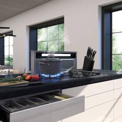 Cocina Moderna: Cocinas a medida  de estilo  por Arqed