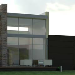 Vivienda Campestre: Casas de estilo minimalista por IAA LTDA