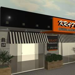 KRAFT: Edifícios comerciais  por PRB ARQUITETURA