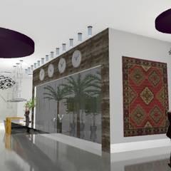 LOBBY CORPORATIVO: Edifícios comerciais  por PRB ARQUITETURA