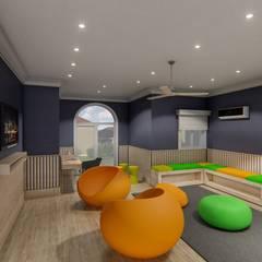 Diseño interior - Vivienda Unifamiliar: Dormitorios de estilo clásico por Triad Group