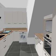 MODERNISATION DE LA CUISINE: Éléments de cuisine de style  par S'PACE HABITAT / S'PACE HOME DESIGN