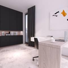 Study/office by Mono architektura wnętrz Katowice