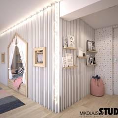 Nursery/kid's room by MIKOŁAJSKAstudio ,