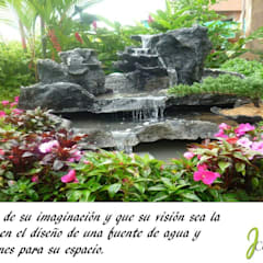 PRESENTACIÓN: Estanques de jardín de estilo  por JCASCADAS
