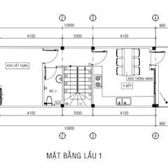 Bungalow by Công ty Thiết Kế Xây Dựng Song Phát,