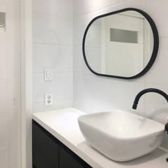 용인 수지구 복층 아파트 48PY: 그리다집의  욕실,모던