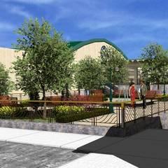 Plaza Jardín: Salones de eventos de estilo  de CADOT