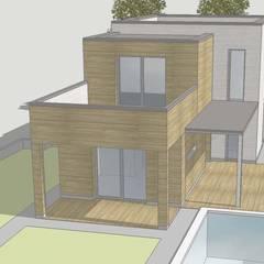 Progetto per villetta unifamiliare - ...in corso...: Casa unifamiliare in stile  di Architetto Libero Professionista