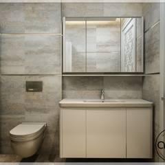 ALİSSİ TASARIM STÜDYOSU – NALBANT / EV: modern tarz Banyo