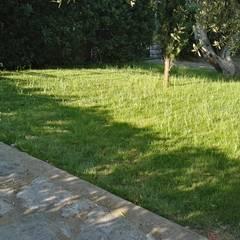 Jardines en la fachada de estilo  por Architetto Libero Professionista