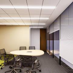 OFICINAS CORPORATIVAS FINCOMUN: Estudios y oficinas de estilo  por FORMprojects