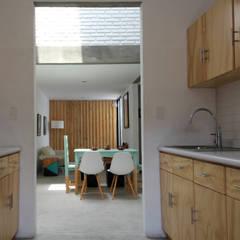 Casa CH: Cocinas de estilo industrial por Apaloosa Estudio de Arquitectura y Diseño