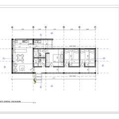 : Casas unifamiliares de estilo  por Arquitectura SS, Clásico
