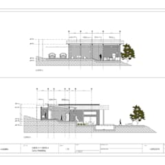 : Casas unifamiliares de estilo  por Arquitectura SS