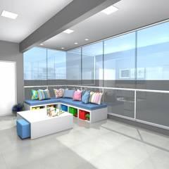 Brinquedoteca: Quartos de bebê  por Arquiteta Carol Algodoal Arquitetura e Interiores