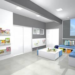 Dormitorios de bebé de estilo  por Arquiteta Carol Algodoal Arquitetura e Interiores,
