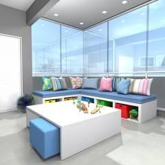 Chambre bébé de style  par Arquiteta Carol Algodoal Arquitetura e Interiores