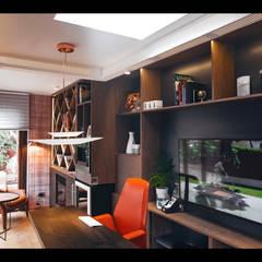 Casa Foa 2018 Home Office : Estudios y biblioteca de estilo  por Kaa Interior | Arquitectura de Interior | Santiago
