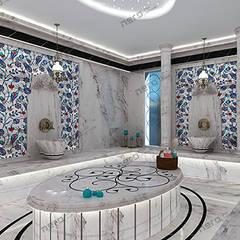 NERO MİMARLIK YAPI A.Ş – VİLLA: klasik tarz tarz Banyo
