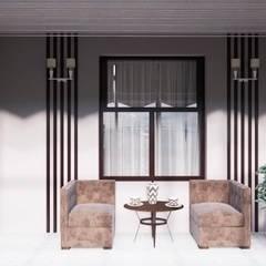 "Balcony ""Open air"": Tерраса в . Автор – Tatiana Tretiakova - interior designer"